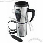 Princess International Stainless Steel Smart Mug With Temperature Control