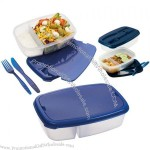 Printed Lunchbox & Cutlery Set