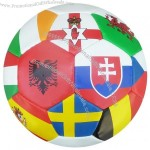Printed National Team Logo Footballs