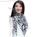 Printed Triangle Scarf