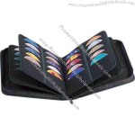 Professional class, zippered deluxe CD case. Holds 100 CD / DVD's.