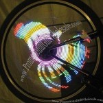 Programmable LED Bicycle Wheel Light
