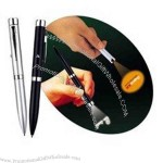 Projection pen is a good promotional gift and has smooth writing.
