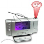 Projection Weather Station Clock Radio