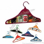 Promo Hanger - Hanger made of recycled plastic and cardboard
