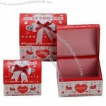 Promotional Cardboard Gift Boxes with Exquisite Workmanship