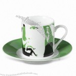 Promotional Coffee Mug/Cup with Saucer