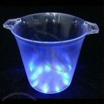 Promotional Colorful LED Ice Bucket