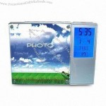 Promotional Digital Clock with Photo Frame and Voice Recorder