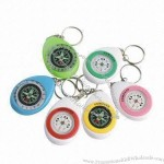 Promotional Gift Keyring Compasses