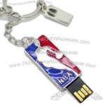 Promotional Key Ring USB Flash Memory Drive