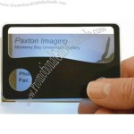 Promotional Product - Credit-card Size Magnifier with Light
