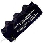 Promotional Stress Reliever Foam Key Float With Beaded Chain