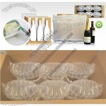 Protective Packaging for 6 wine bottles