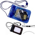 Protector - Waterproof Travel Pouch With Double Zipper Top Closure