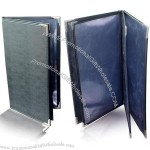 PU Leather Menu Covers