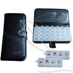PU Wallet 7 Day Pill Box