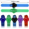 Pumps Hand Liquid Dispenser - Wristband Silicone Refillable Wristband Handwash Gel for Travel