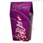 Purple Soft Gamble Packing Box for Christmas Foods