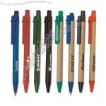 Push Action Recycled Paper Ballpoint Pen