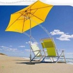 Push-up Parasol with Push-button Tilt and Fabric Adjustment
