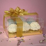 PVC Cupcake Box, Used for Food Packing