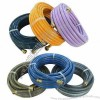 PVC Garden Hose with Brass Male and Female Connector