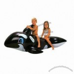 PVC Infaltable Whale Rider