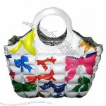 PVC Inflatable Bag, Bubble Air Beach Hobo Tote Handbag