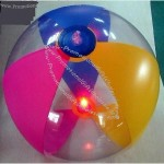 PVC Inflatable Beach Ball With LED Light