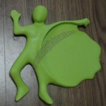 PVC Little Boy Coaster