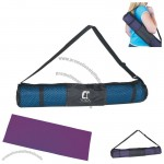 Pvc Promotional Fitness Yoga Mat And Carrying Case