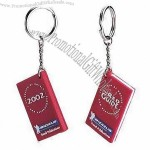 PVC Rubber Keychains with Note Book