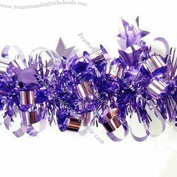 Pvc tinsel garlands china wholesaler