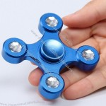 Quad Bar High Speed Focus Toy Alloy EDC Fidget Spinner