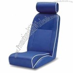 Racing Car Seat with Slider, Fabric and Carbon Look