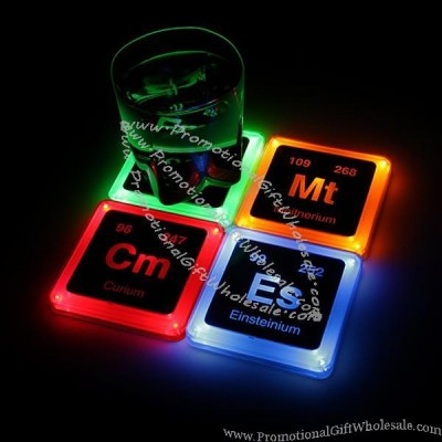 Radioactive element glowing coasters set china wholesaler 3834940421 - Radioactive coasters ...
