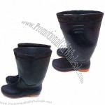 Rain Boots For Men/Women With Classical Black