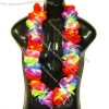 Rainbow Hawaiian Flower Leis