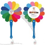 Rainbow PP Hand Fan