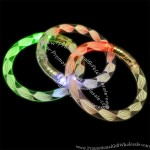 Rainbow Spiral Bangle Flashing Bracelet