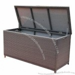 Rattan Storage Case With Waterproof Cushions And Pillows