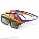 Real D Style Circular Polarized 3D Glasses