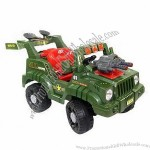 Rechargeable Battery Operated Toy Vehicle with 20W Motor Power