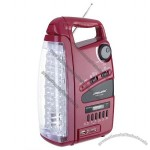 Rechargeable Emergency LED Light with Radio