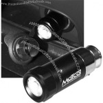 Rechargeable LED Auto-Plug Flashlight with Aluminum Housing