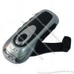 Rechargeable LED Hand Crank Flashlight