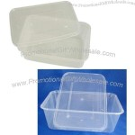 Rectangle Disposable Food Containers, Made of PP