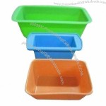 Rectangle Silicone Plates/Bowl Set
