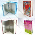 Rectangle Tin Box For Book Package